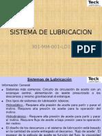 Sistema de Lubricacion SAG