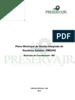 PMGIRS Carvalhópolis - Plano