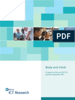 Research Report Body and Mind.use of ICT in PE