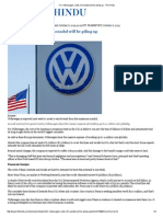 For Volkswagen, Costs of Scandal Will Be Piling Up - The Hindu