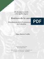 Libro Estetica de Lo Atroz Mg Edgar Barrero Cuellar