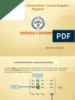 Matrices y Determinantes 3x3