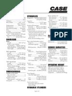 especificaciones excavadora-case210