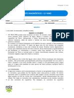 Teste Diagnostico-Port5 RaizEditora