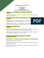 Cronograma de Atividades 1º Semestre 20014