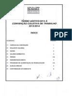 CCT Previdência Fechada2014