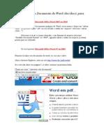 Converter Doc Em PDF