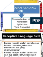 Penilaian Reading Skill