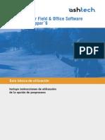 Guía Básica de Utilización MobileMapper Field