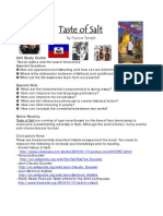 Taste of Salt Unit Study Guide