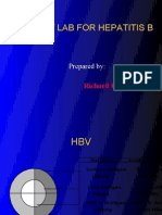 Post Lab for Hepatitis b