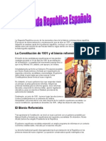 La Segunda República es uno de los momentos clave de la historia contemporánea española