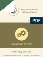 Report of NDT UT testing