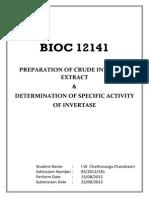 Bio Chem Lab Report 01