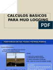 Calculos Basicos Mud Logging
