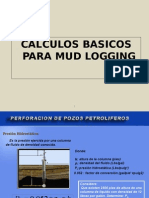 Calculos Basicos Mud Logging