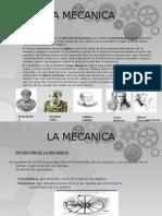Historia de La Mecanica