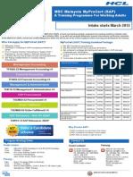 MSC MyProCert Brochure 2012