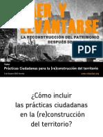Prácticas ciudadanas para la (re)construcción del territorio