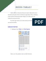 Practica Calificada Tablas - 2do Grado