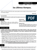 HCV - Entendiendo los últimos tiempos - 4Oct2015