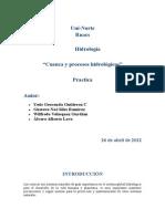 Cuenca & Procesos Hidrológicos