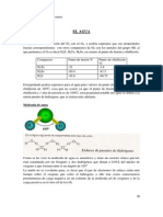 Propiedades quimicas del agua