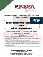 3er Examen 20153 swsd Solucionario