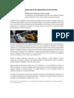 Ultrasonidos Para Monitorización de Rodamientos en Ferrocarriles