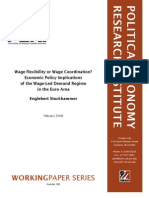 Wage Flexibility or Wage Coordination