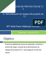 Administracion de Los Riesgos Del Proyecto de TI(Guia Examen)