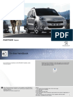 Peugeot Partner Tepee 2014 Owners Manual