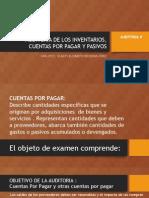 AUD II S1.4 GEBBL Inventarios,Ctas Por Pagar,Pasivos