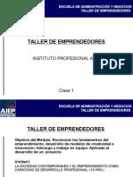 CLASE 1 Completa Taller emprendedores