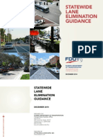 FDOT Statewide Lane Elimination Guidance