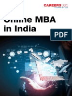 Online MBA in India