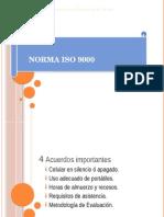 Estructura de La Norma Iso 9000