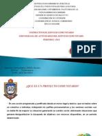 Instructivo de Servicio Comunitario y Cronograma de Actividades Periodo i -2014