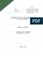 Licenta Regulament