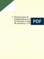 Declaracion de independencia de los estados unidos de america