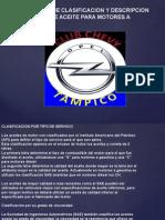 Aceites y Lubricantes Ideales Para El Motor
