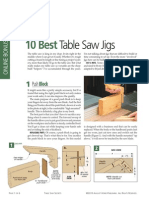 10 Best Tablesaw Jigs