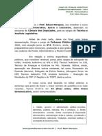 Tecnico Legislativo Direito Administrativo Para Os Cargos de Tecnico e Analista Legislativo Da Camar