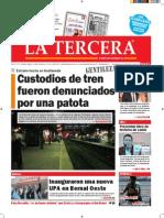 Diario La Tercera 06.10.2015