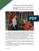 29.09.2014 Cambiamos Vidas en Áreas Vulnerables Esteban