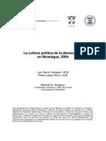 Cultura Politica de la democracia