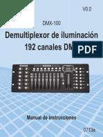 DMX 100 Instr