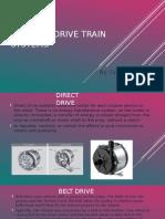 robotic drive train systems