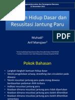 11. Bantuan Hidup Dasar Dan Resusitasi Jantung Paru - PMR 12