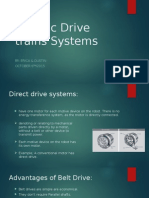 robotic drive trains systems